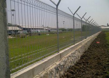 Pabrik Pagar BRC Bandara