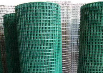 Pabrik Kawat Loket Galvanis & PVC