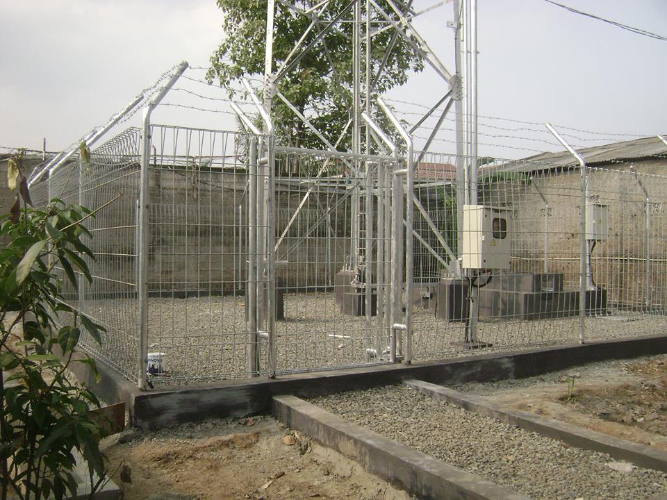 Pabrik Pagar Tower BTS